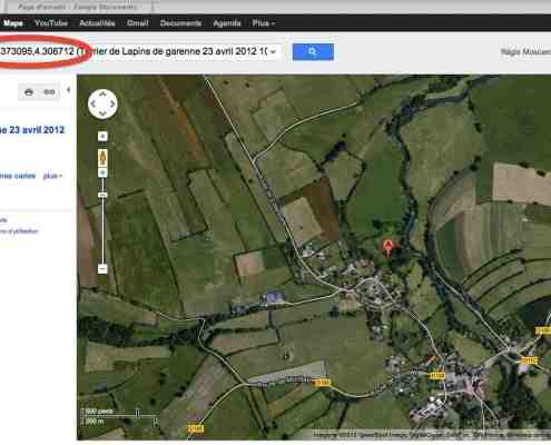 capture écran google maps 1