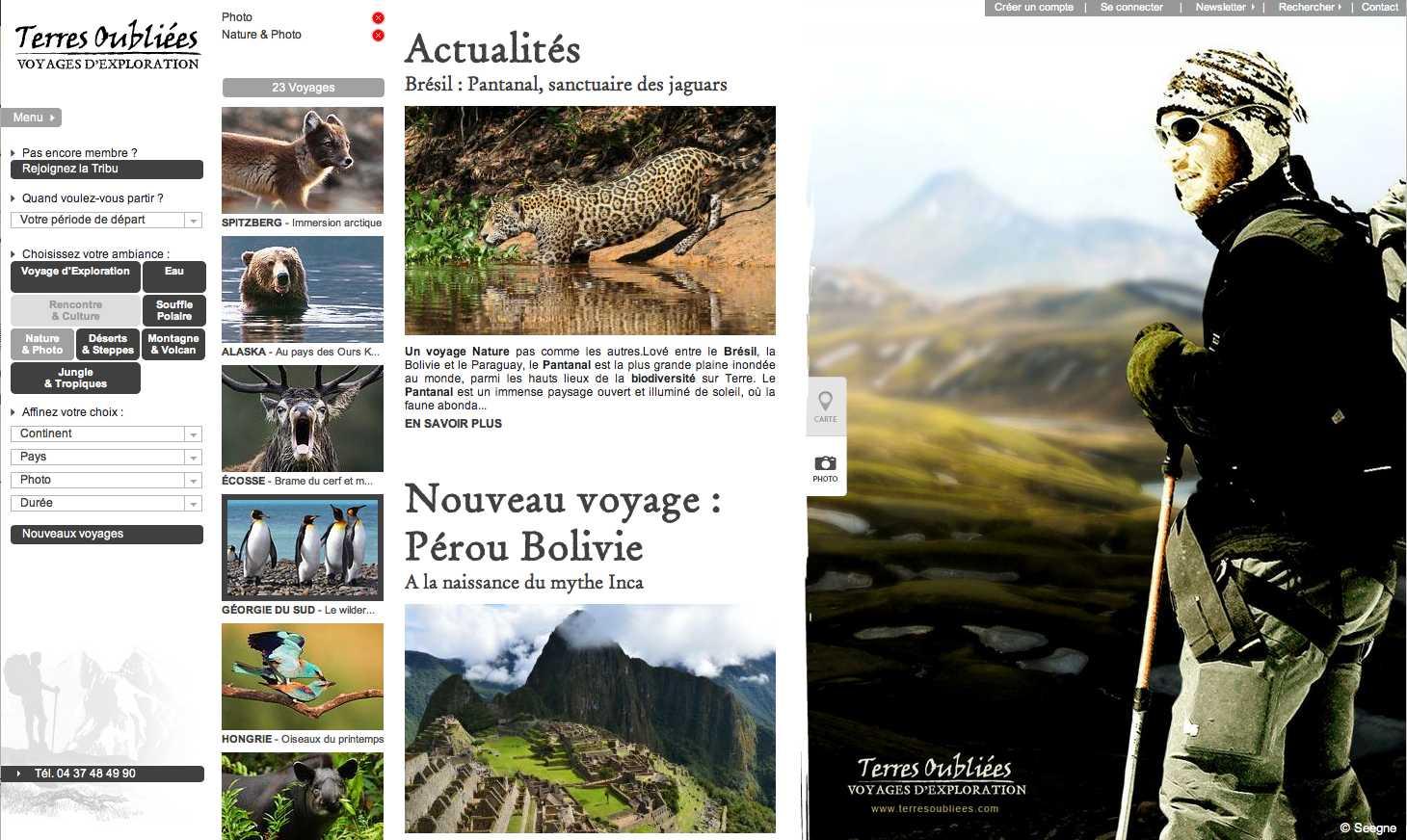 [J'ai testé pour vous] 2 agences de voyages «Photo Nature»