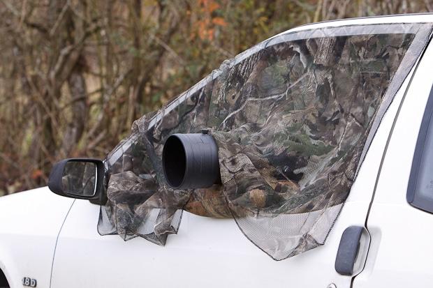 Bien utiliser sa voiture comme affut photo pour photographier les animaux.