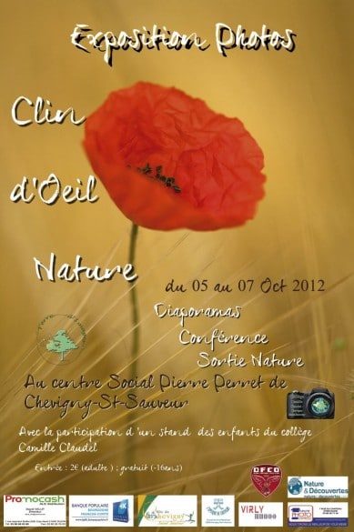affiche expo photo nature 389x585 Conférence et exposition de photo nature
