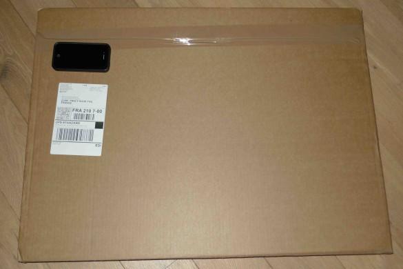 bonjour toile carton emballage 585x390 [Jai testé pour vous] BonjourToile.fr   vos photos sur toile