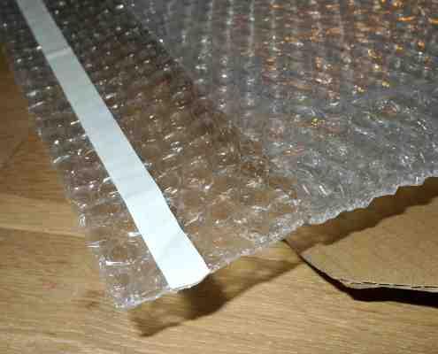 bonjour toile papier bulle bande adhésive