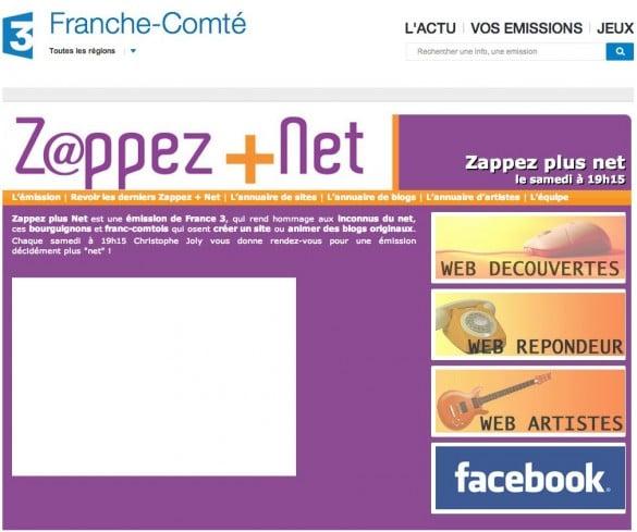 accueil zappez plus net 585x489 [Vidéo] Auxois Nature sur France 3