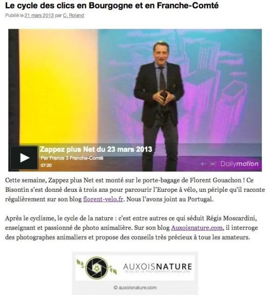 zappez plus net france 3 auxois nature 524x585 [Vidéo] Auxois Nature sur France 3