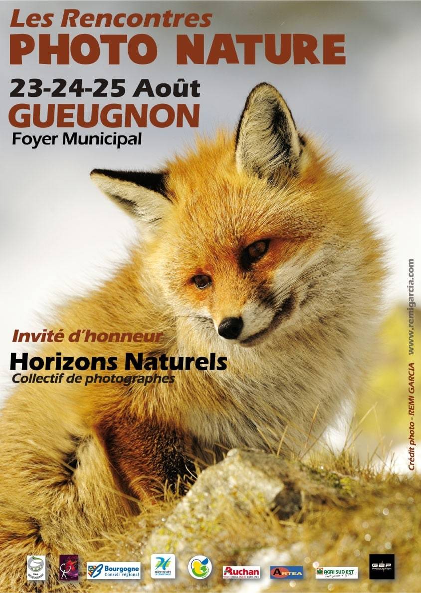 affiche rencontres photo nature gueugnon salon nature Rencontres Photo Nature de Gueugnon