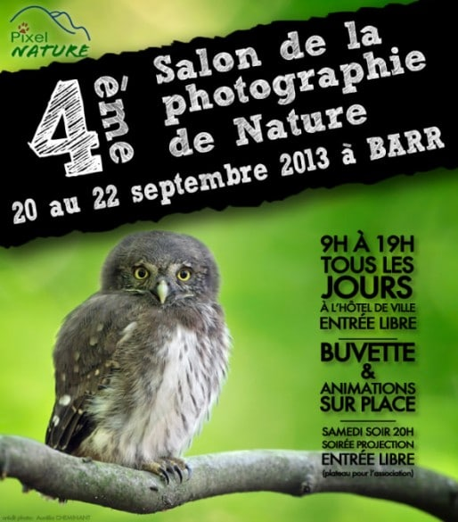 affiche salon photo nature barr 514x585 4ème Salon de la Photo Nature de Barr