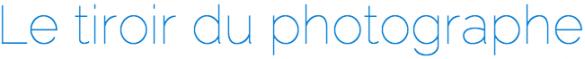logo tiroir photographe