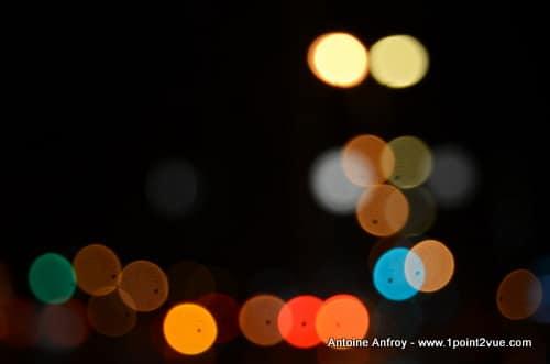 flou mise au point nuit La photographie abstraite : synthèse de la Boite à Photos