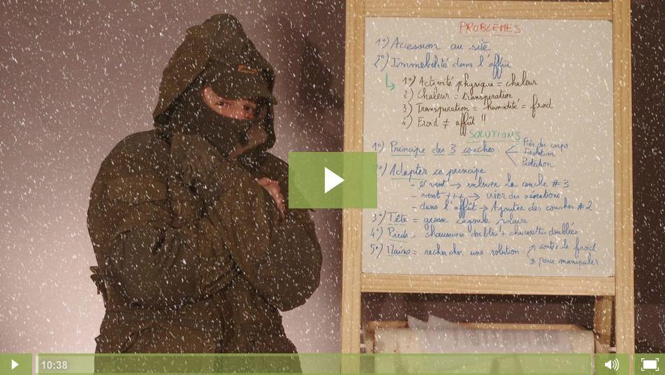 Episode #3 – Comment avoir chaud pendant les affûts photo d'hiver