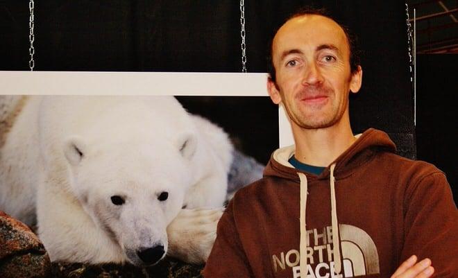 Jean-Marie Séveno lors du festival de Seichamps Nature (photo photo N. Diaquin)