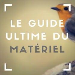 guide materiel photo animailere