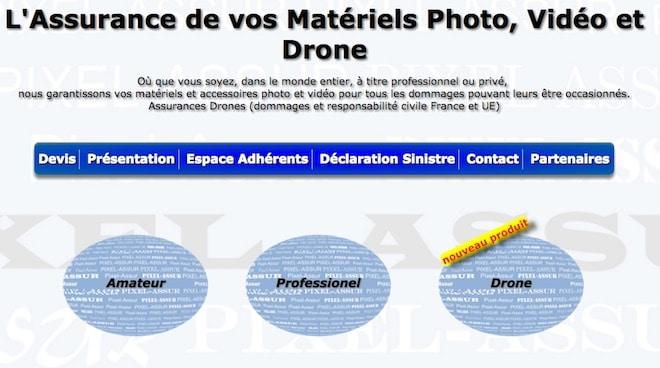 pixel assur contre le vol de materiel photo