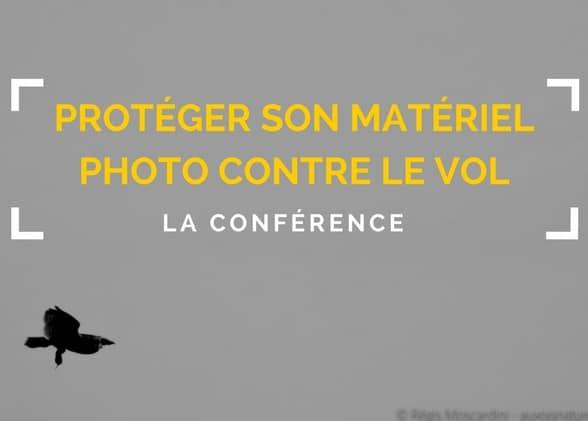 Outils et astuces contre le vol de matériel photo