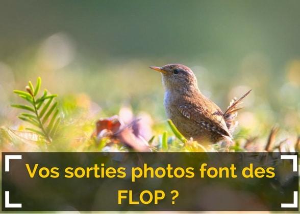Vos sorties photos font des FLOP ? Peut-être pas de votre faute