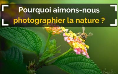Pourquoi aimons-nous photographier la nature ?