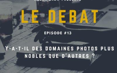 Débat : Y-a-t-il des domaines photos plus nobles que d'autres ?
