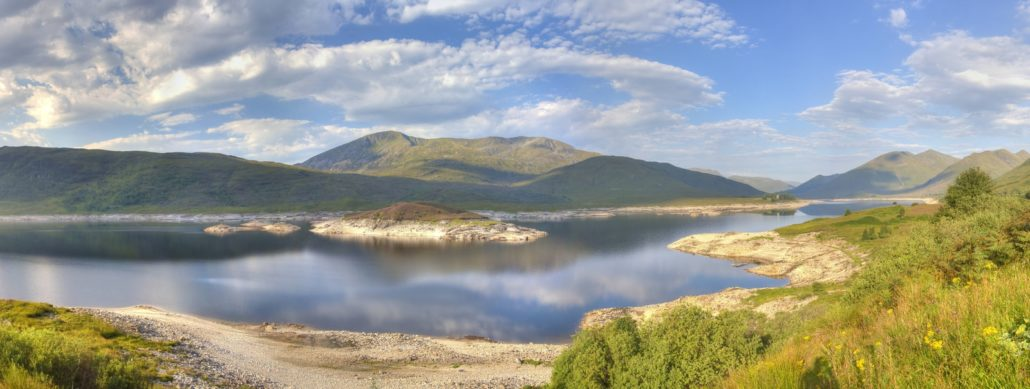 Loch Cluanie – Highlands (Ecosse)